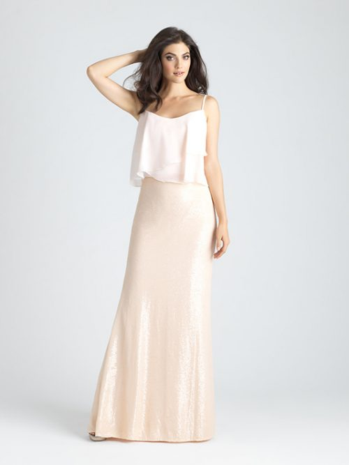 1527T Allure Bridesmaid Dress Top