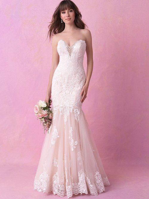 3161B-Allure Romance Wedding Dress