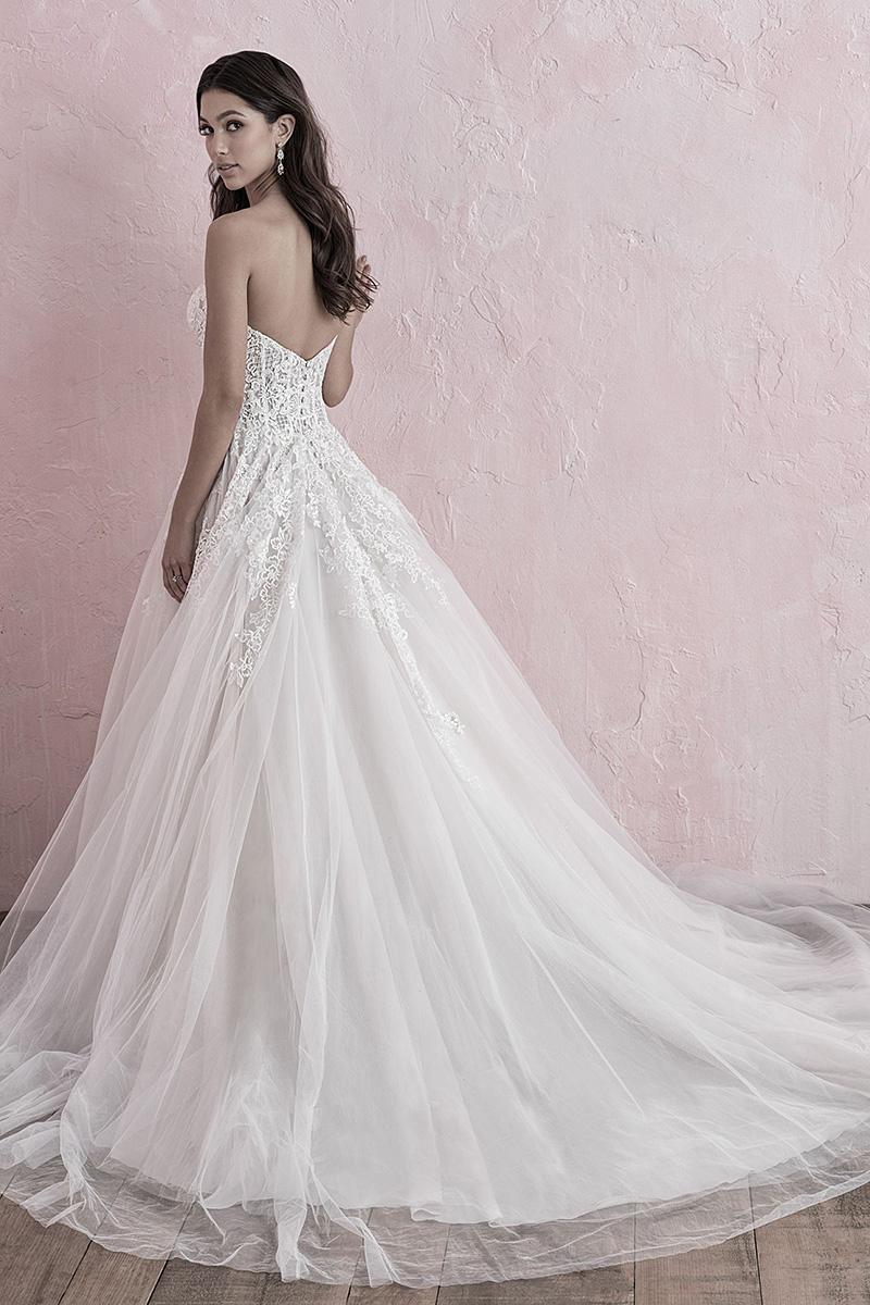 3270 Allure Romance strapless tulle wedding dress
