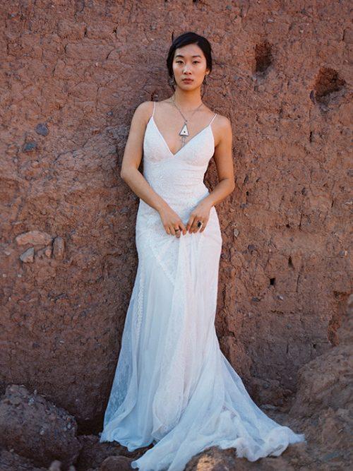 F130 Goldie Wilderly Bride Wedding Dress