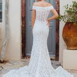 F161 Celine Wilderly Bride Modern Wedding Dress