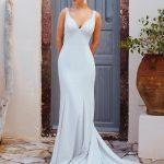 F174 Penelope Wilderly Bride Sheath Wedding Dress