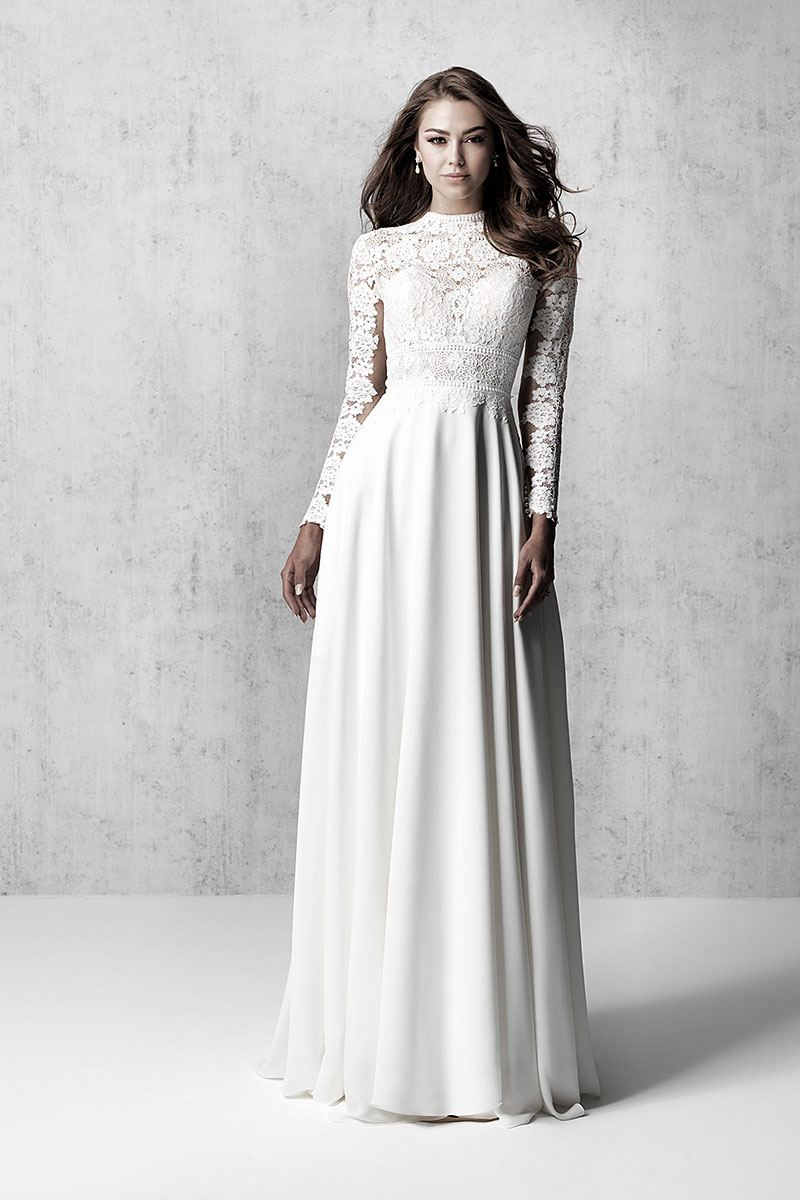 Long Sleeve Wedding Dress Madison James MJ623