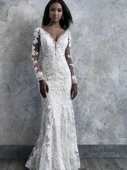 Madions James MJ511 long sleeved wedding dress